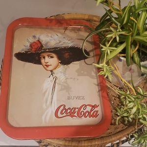 🥤Vintage coca cola tray